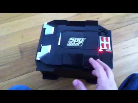 spy gear SECRET box - YouTube