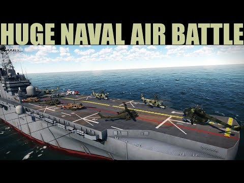 Brunei Campaign: HUGE Naval Air Battle To Secure Tutong City | DCS 2.5