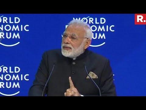 PM Narendra Modi At Davos | Full Speech