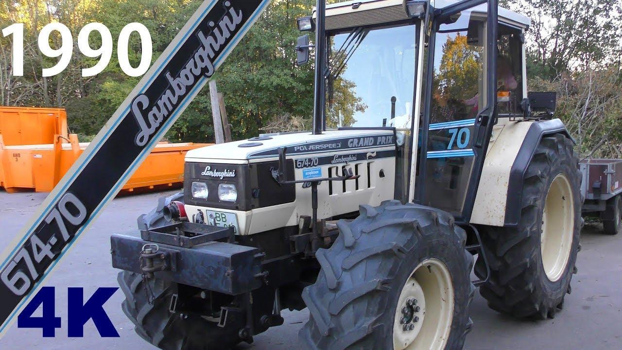 Fabelhaft 1990 Lamborghini Traktor 674-70 POWERSPEED GRAND PRIX Sound #MF_08