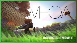 """Minecraft ►LIFE IN THE WOODS 3 (Modded Minecraft 1.10.2 Modpack)►""""NEW MOD PACK for 2017 Gameplay!!"""""""