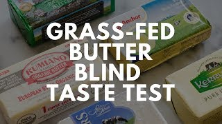 Blind Butter Taste Test!