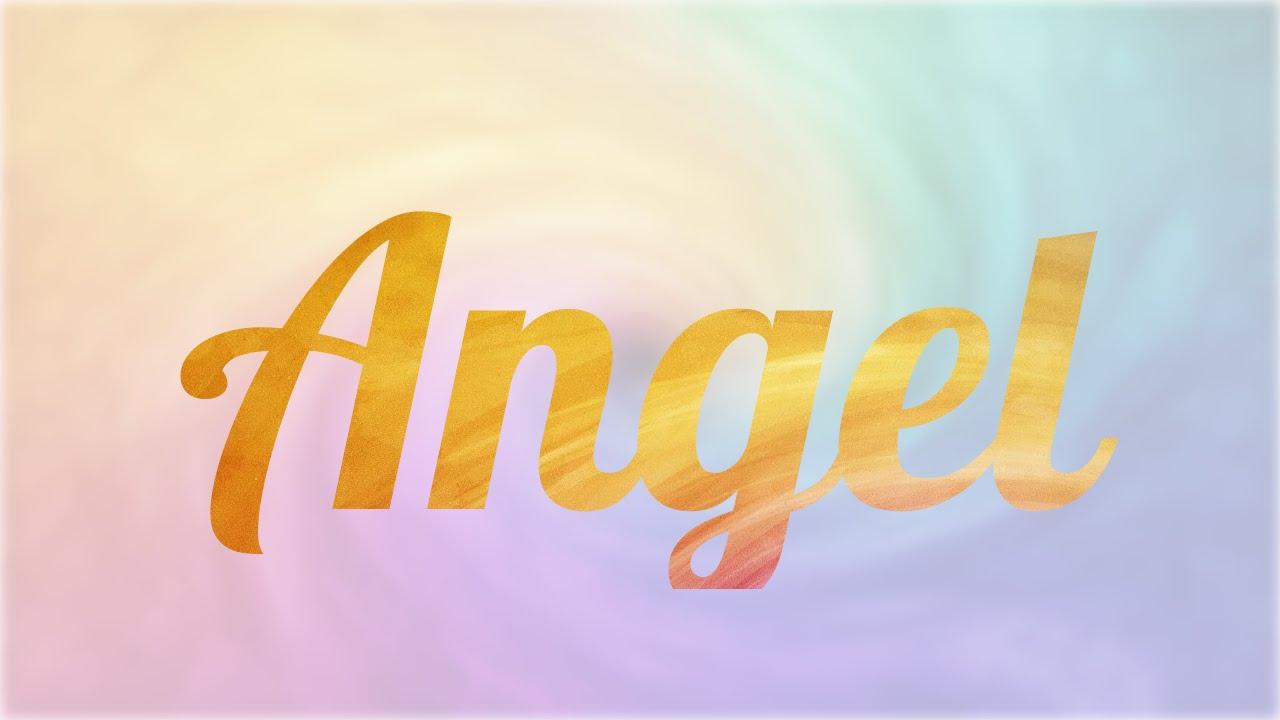 Significado De Angel Nombre Español Inglés Para Tu Bebe Niño O