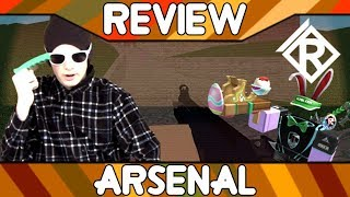 Arsenal: Probably The Only FPS That Matters [ROBLOX Game Review]