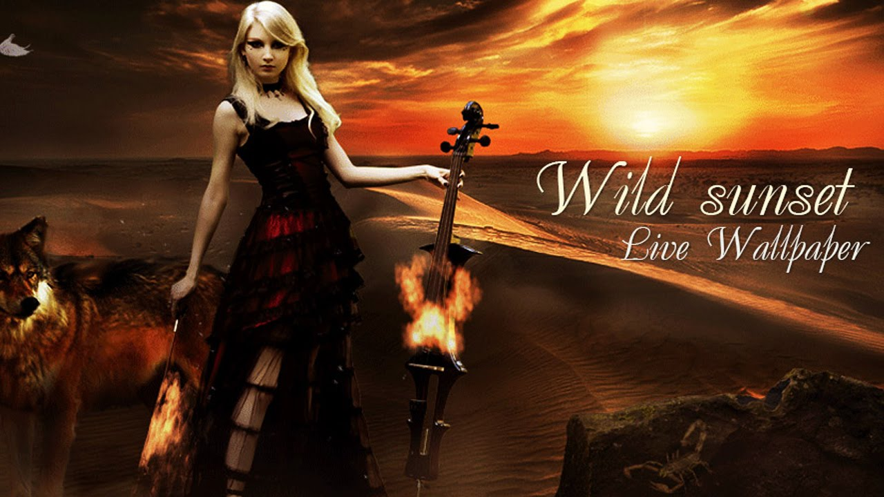 Wild Sunset Free Lwp Live Wallpapers Android Youtube