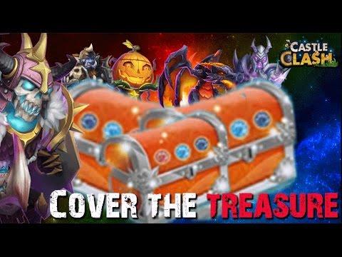 Castle Clash Cover The Treasure