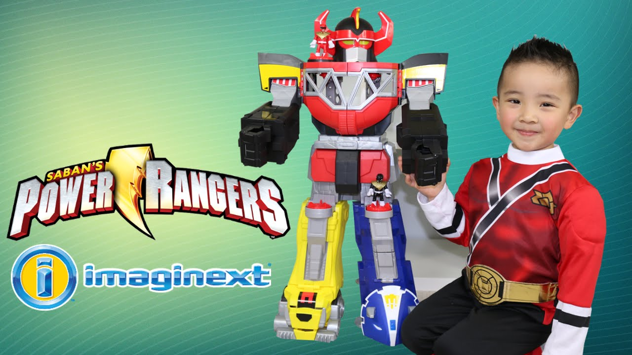 Uncategorized Robot From Power Rangers imaginext power rangers morphin megazord giant size toy robot ckn toys youtube