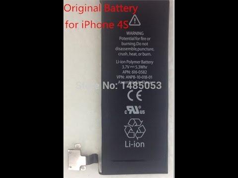 23 июн 2014. Прогуливаясь по ebay. Com наткнулся на аккумулятор повышенной емкости для iphone 4s!!!. Стоимость аккумулятора совсем смешная. Ссылка http://www. Ebay. Com/itm/3.