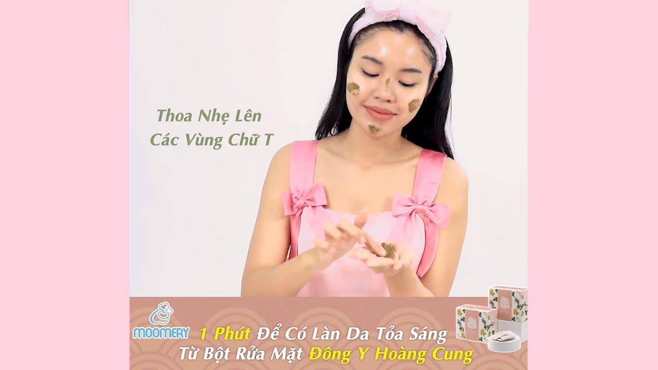 Hướng dẫn sử dụng Bột Rửa Mặt ĐÔNG Y HOÀNG CUNG 💋 Myphamhera.com