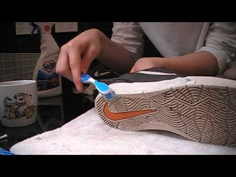 Suede Shoe Cleaning ASMR (BEST SCRUBBING SOUNDS)