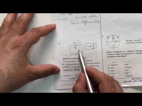Lys fizik deneme sınavı 3