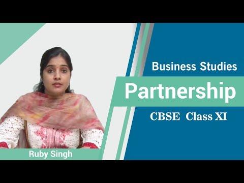 Partnership - CBSE Class XI BusinessStudies by Ruby Singh