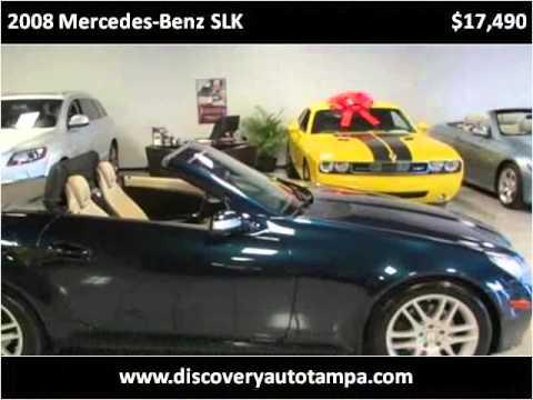 2008 mercedes benz slk used cars tampa fl youtube for Mercedes benz tampa used cars