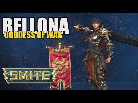 SMITE:  Bellona - Goddess of War (Siege Gameplay)
