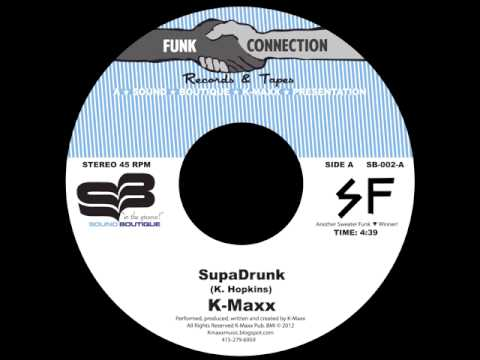 Debut Sound Boutique 002 release ...K-Maxx SUPADRUNK!!! available on 45!!