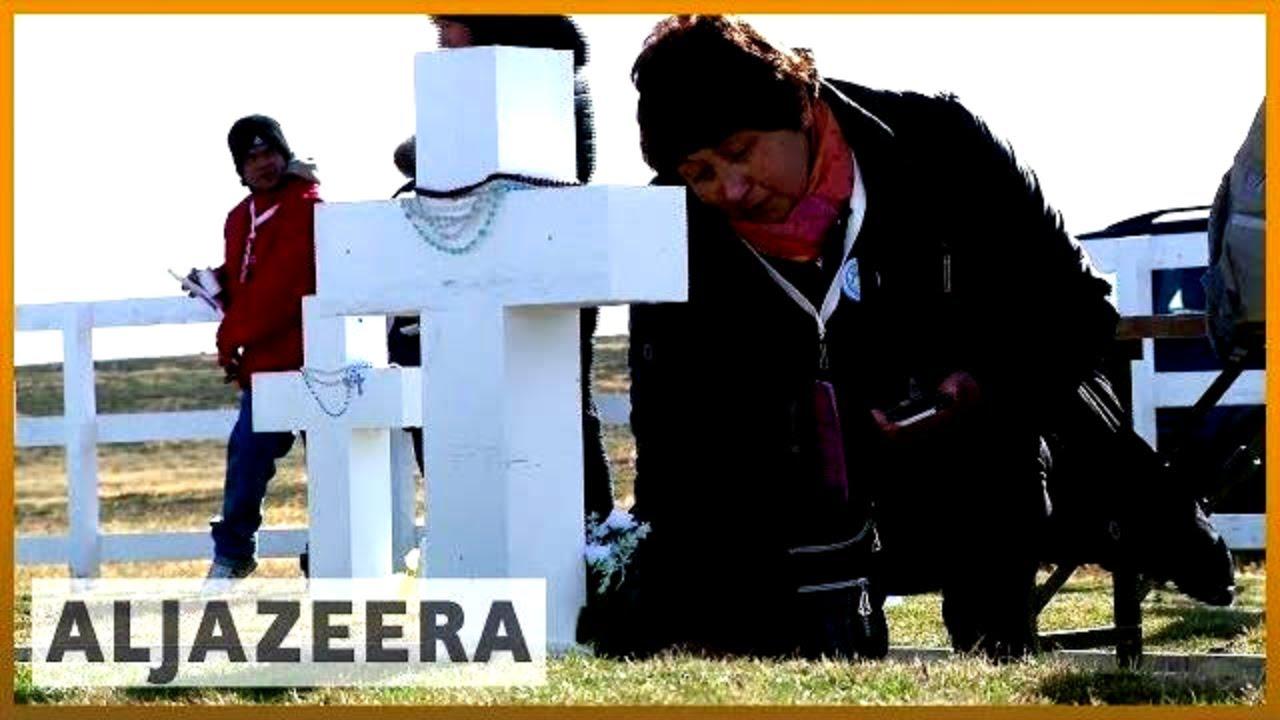 🇦🇷  Families visit fallen soldiers' graves in Falkland Islands | Al Jazeera English