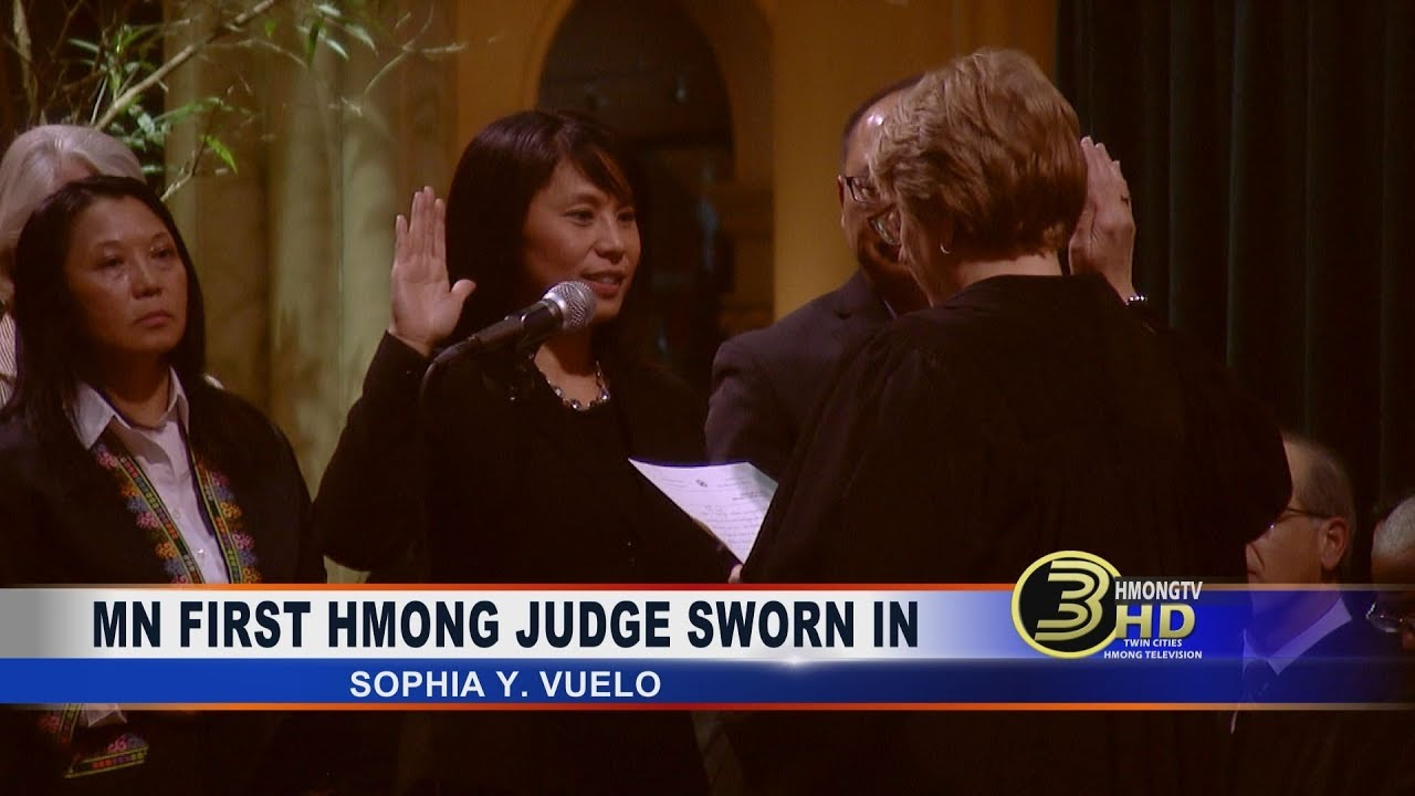 3 HMONG NEWS: JUDGE SOPHIA Y. VUELO SWEAR-IN CEREMONY.