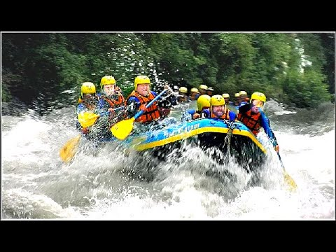 Rafting Imster Schlucht Und Oetztaler Ache In Tirol