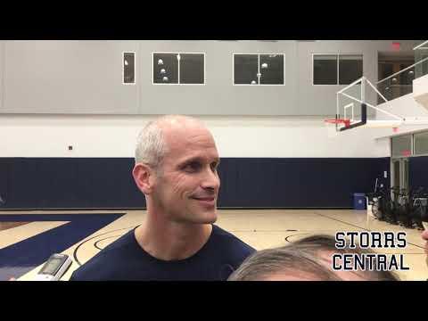 UConn Men's Basketball Pregame (Syracuse) - Dan Hurley