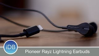 Pioneer Rayz Lightning Earbuds Are Packed with Features & Hey, Siri Support
