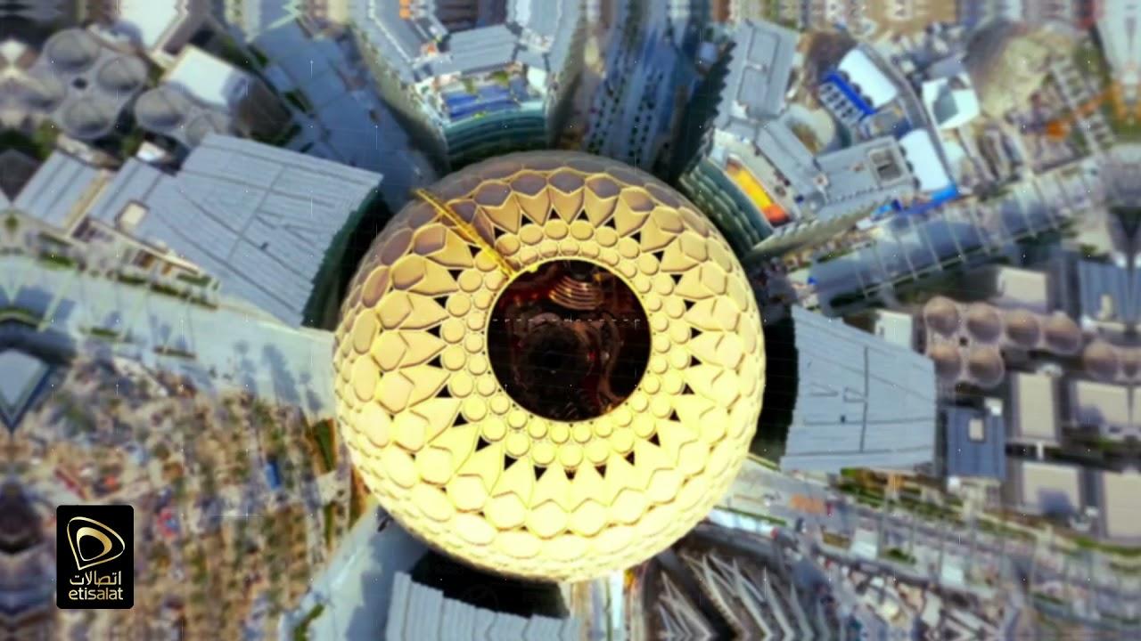 Etisalat Enabling The Impossible at Expo2020 Dubai