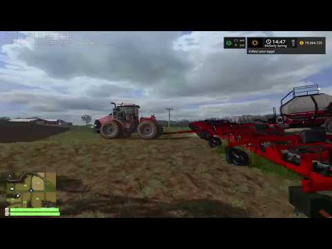 FS17 Timelaspe UMRV: Day5 - Planting Grass and More Cultivating