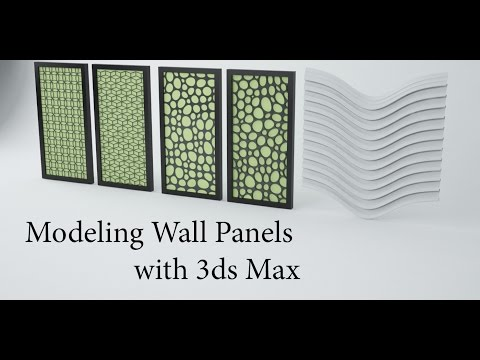 Modeling Wall Panels in 3ds Max