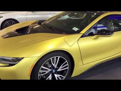 2018 Bmw I8 In Protonic Frozen Yellow Metallic Youtube