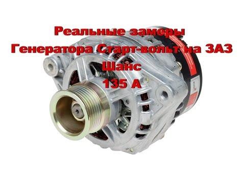 видео: Реальные замеры генератора Старт-Вольт 135 А (ЗАЗ Шанс)