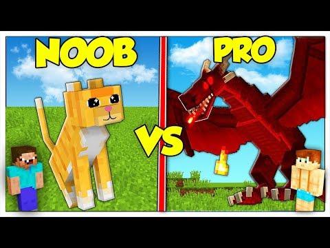 CUCCIOLO NOOB CONTRO CUCCIOLO PRO! - Minecraft ITA