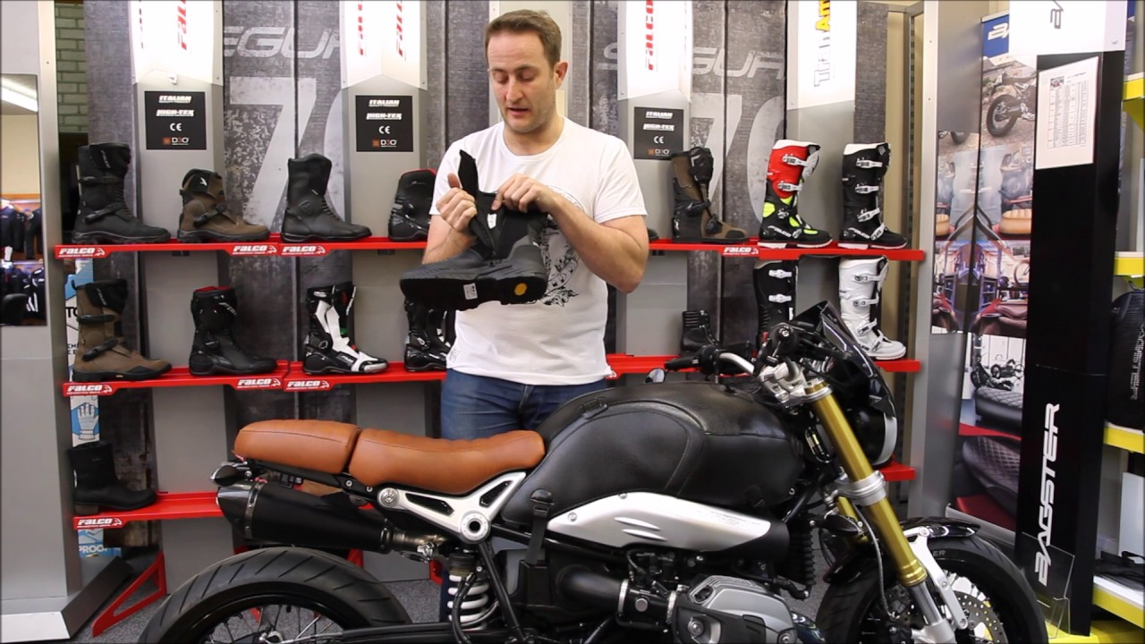 FALCO Tourance Motorcycle Boot UK Review Full HD