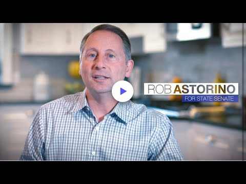 Rob Astorino announces his candidacy for New York State Senate.