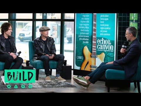 "Andrew Slater & Jakob Dylan Discuss Their Documentary, ""Echo In The Canyon"""