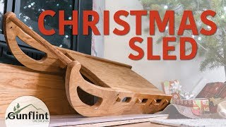Sled - Making A Sled For Christmas | Woodworking