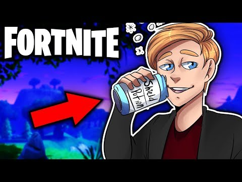 DON'T DRINK WHILE YOU DO THIS!!! | Fortnite: Battle Royale
