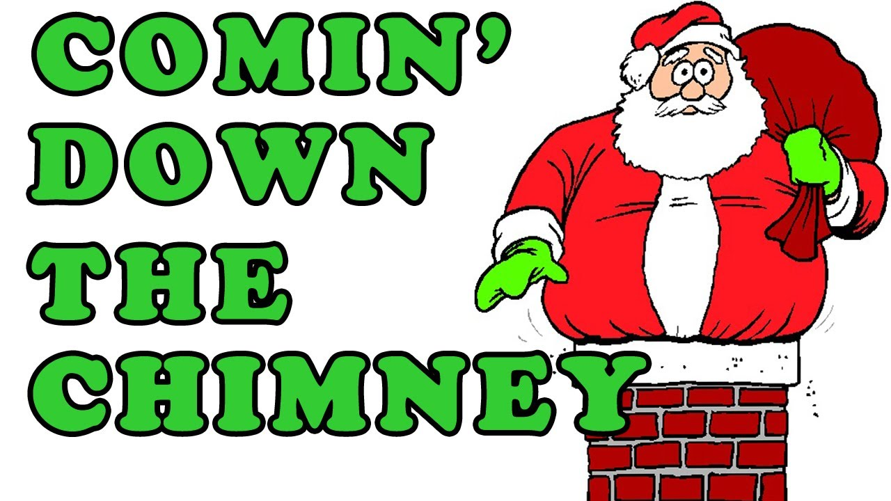 Christmas Songs for Children - COMIN\' DOWN THE CHIMNEY - Kids Songs ...