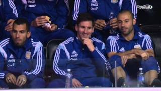 Lionel Messi and Argentina Attend Wizards Game in D.C.