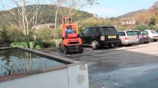 Forklift fail compilation Heavy equipment accident.