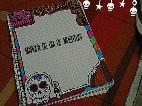 Margen De Dia De Muertos D