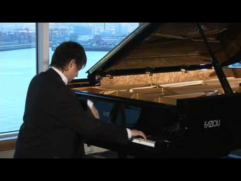 Pianist Tim Zhang Performs for Private Fazioli Concert
