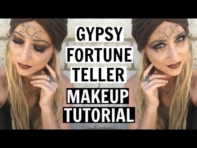 GYPSY FORTUNE TELLER | Makeup Tutorial