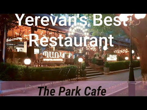 Shoping At Local Market Yerevan | Yerevan's Best Restaurant With Bar| Armenia