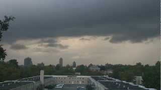 09/08/2012: Tornado Watch/Severe Thunderstorm Warning - New York City, NY.