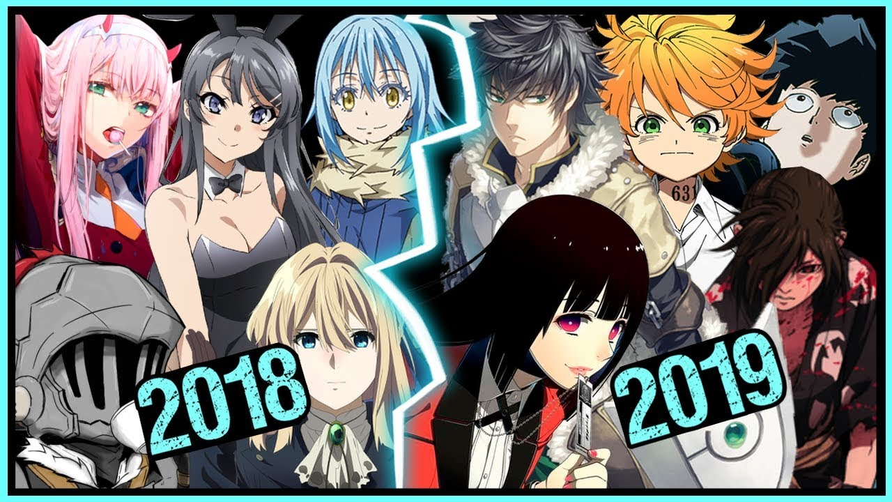 anime in winter 2019 already beats all of 2018 youtube. Black Bedroom Furniture Sets. Home Design Ideas