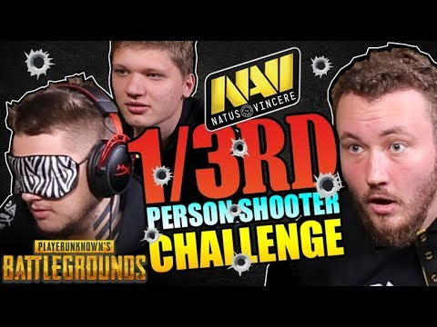 NaVi Plays PUBG 1/3rd Person Shooter Challenge – HyperX Moments