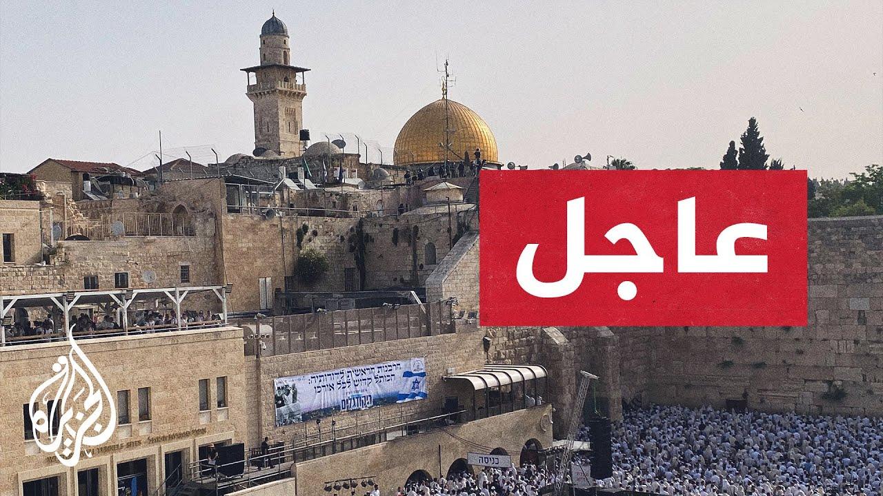 صور مباشرة لاقتحام قوات الاحتلال الإسرائيلي للمسجد الأقصى