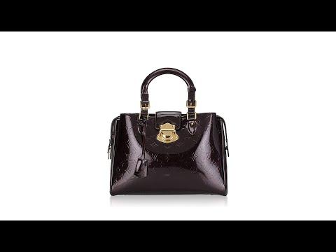 Louis Vuitton Monogram Vernis Melrose Avenue Amarante
