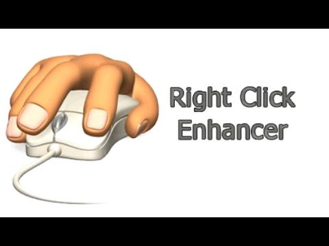 Как настроить контекстное меню в Windows. Right Click Enhancer