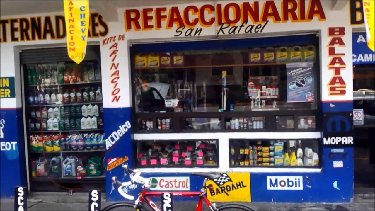 Toyota San Rafael >> Refaccionaria San Rafael - YouTube