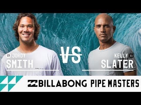 Jordy Smith vs. Kelly Slater - Round Three, Heat 12 - Billabong Pipe Masters 2017
